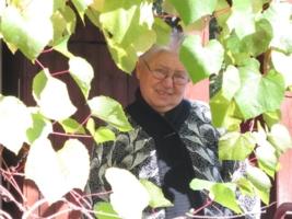 В виноградных листьях