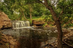 Водопад на Саблинке