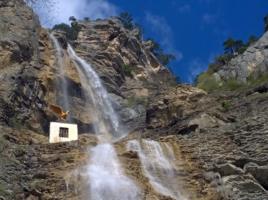 Учан-Су,высочайший водопад Крыма