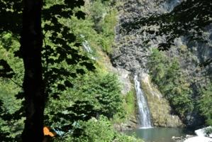 лето Сочи водопады