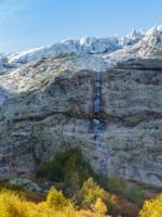 Засыпающий водопад