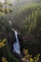 Вечерний водопад