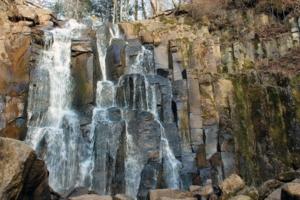 Водопад в октябре