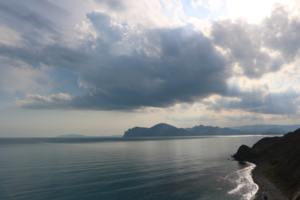 Горы уходящие в море
