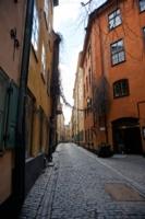Улочка Стокгольма