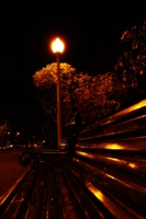 Ночь, лавочка, фонарь...