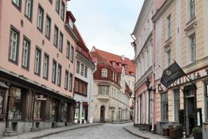 тихие улочки Таллина