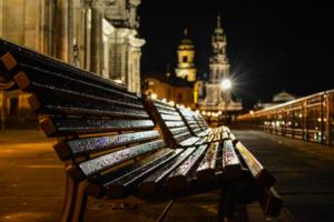 Безлюдный Дрезден