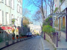 Улочки Парижа.