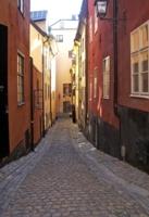 Безлюдно в Стокгольме