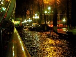 Осень.Вечер.Дождь.