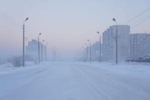 Мороз... туман...холод...