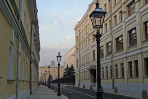 Москва. Центр. 5.36 утра