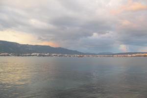Лето, море, облака
