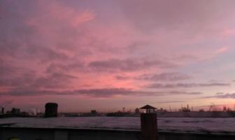 Небо пастельное
