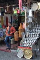 На рынке Марракеша