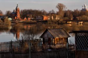 Баня с видом на реку