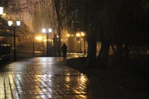 Мокрый вечер