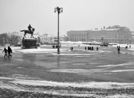Москва. Вьюга.