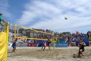 Азарт пляжного волейбола