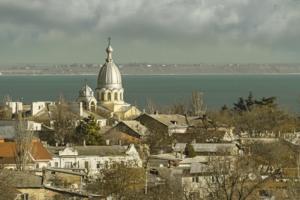 Провинциальный городской пейзаж