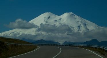 по дороге к Эльбрусу