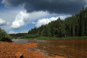 Оранжевые реки, ржавые берега...