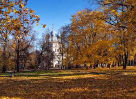 Солнечный день в Коломенском