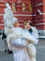 В центре Москвы...