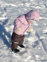 Ой! Снег!? А ходить можно?