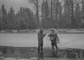 На рыбалке нет плохой погоды!