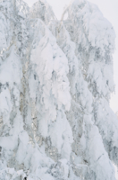Снежный водопад