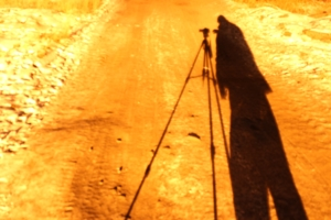Тень фотографа
