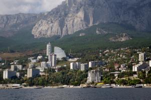 Вид с турецкого берега ))
