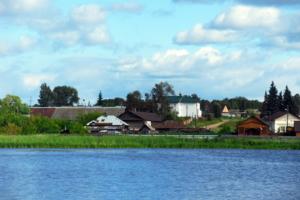 Уральское село