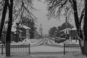 Зима в Зарайске Московской обл.