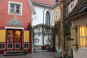 Уютные уголки Старого Таллина