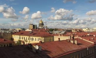 Крыши города, который я люблю