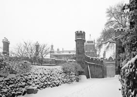 В снежном обрамлении