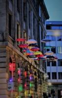 огоньки и зонтики