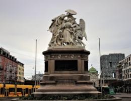 Швейцария, защищающая Страсбург
