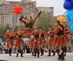 Танец башкирских девчат