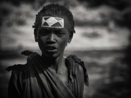 Мальчик племени масаи