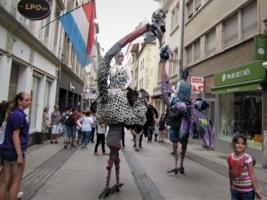 Карнавал в Люксембурге.