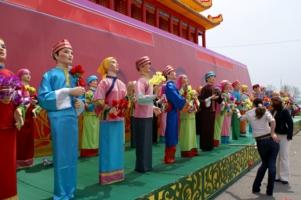 В россии национальная выставка Китая