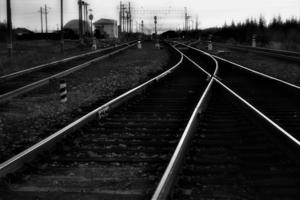 На дальней станции.