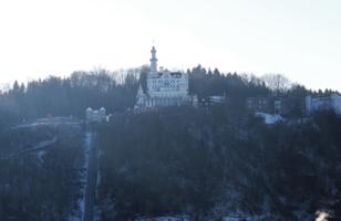 одинокий замок