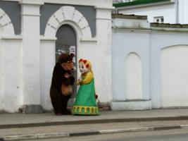 Ходят у нас по улицам медведи