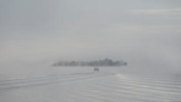 Утро на реке Свирь.