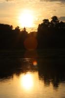 Закат на р.Ветлуга